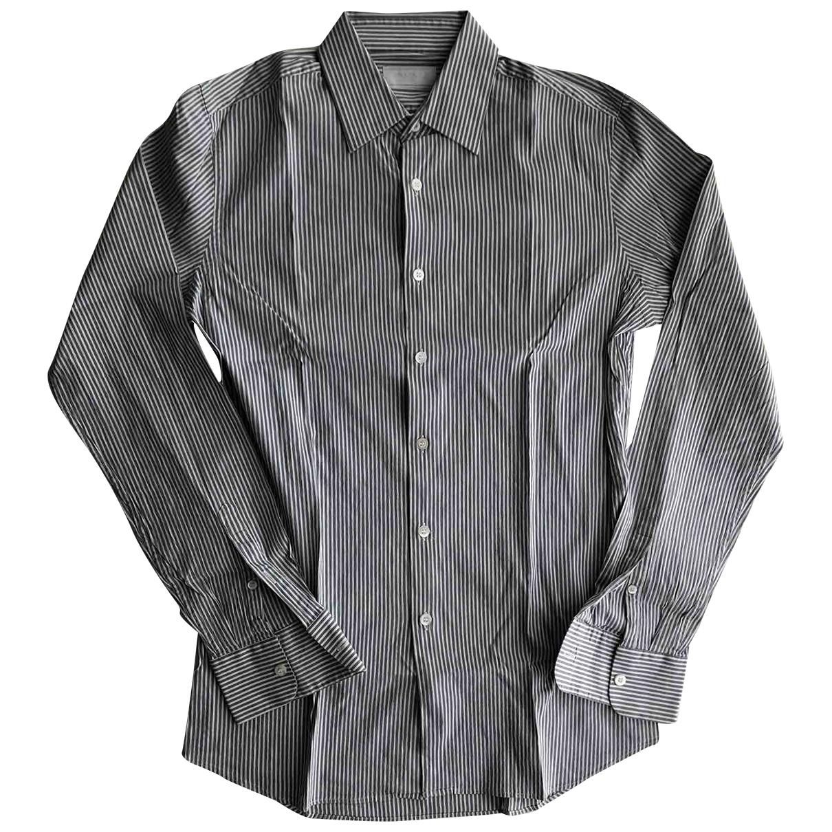 Prada \N Hemden in  Grau Baumwolle