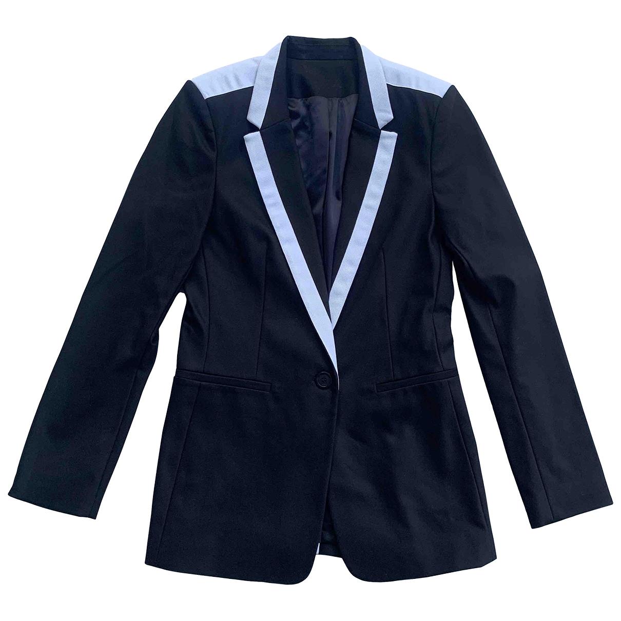 Karl Lagerfeld N Black Cotton jacket for Women 40 FR