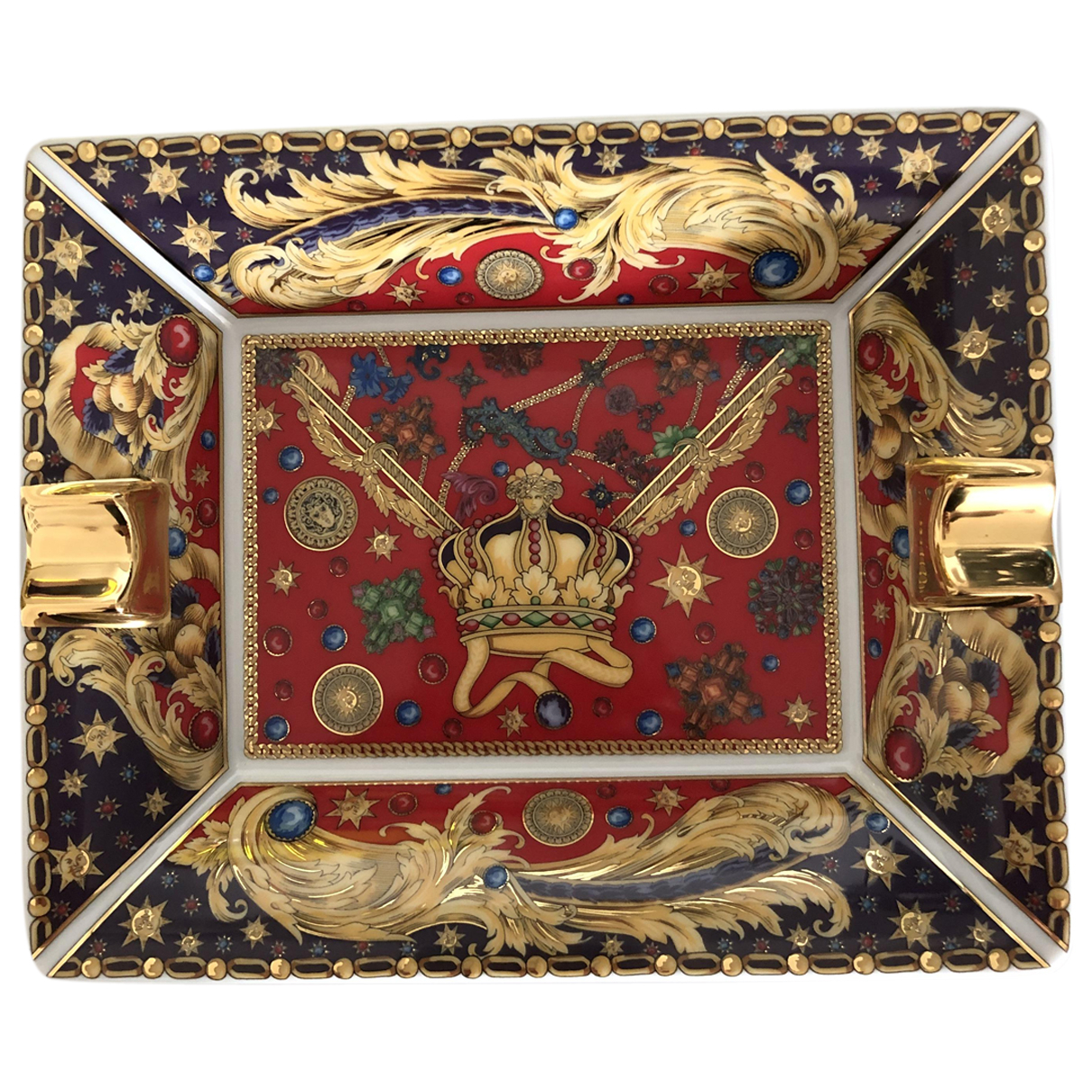 Versace \N Accessoires und Dekoration in  Rot Porzellan
