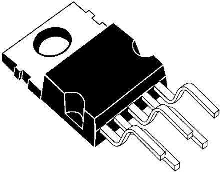 Texas Instruments , LM2592HVT-ADJ/NOPB Step-Down Switching Regulator, 1-Channel 2A Adjustable 5-Pin, TO-220