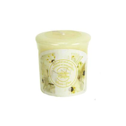 Scented Votive Candle Vanilla, 1Pc
