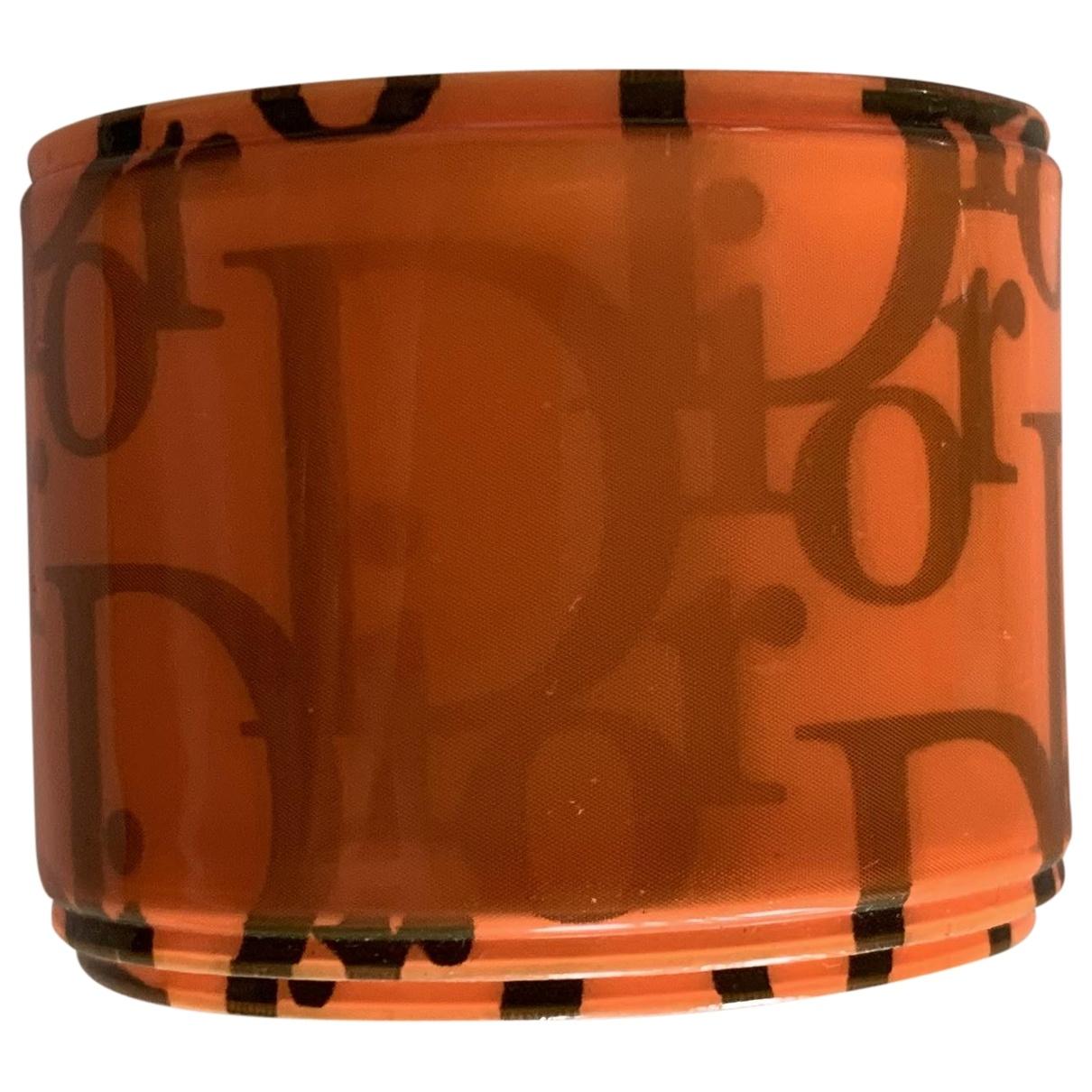 Christian Dior \N Armband in  Orange Kunststoff