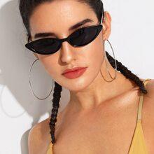 Katze Augen Sonnenbrille Mit Etui