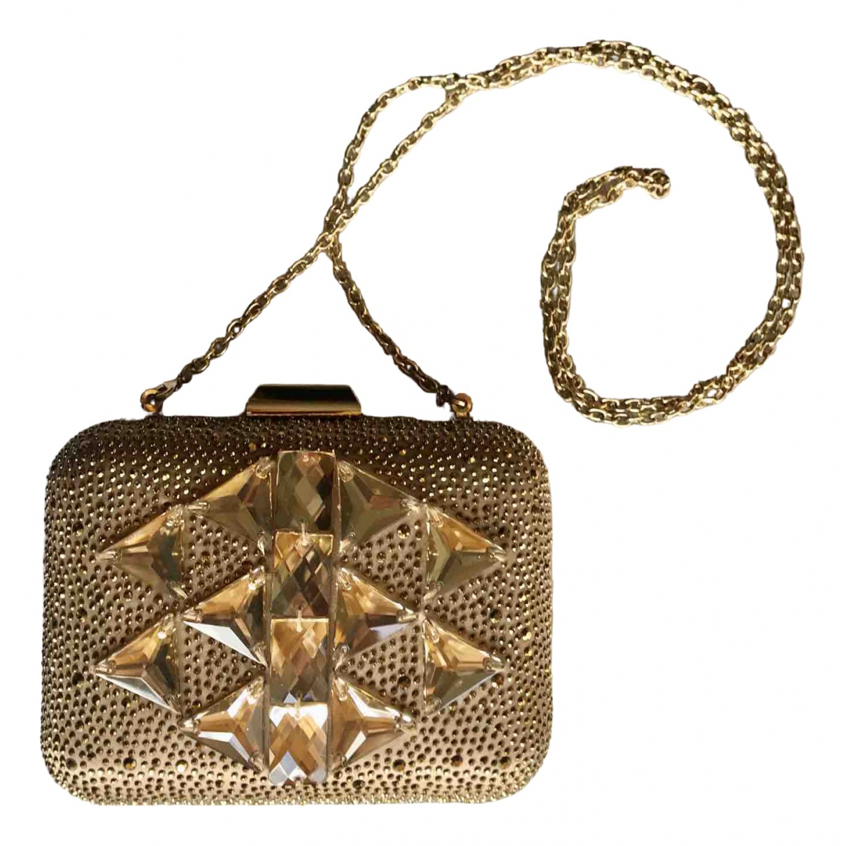 Liu.jo \N Clutch in  Gold Polyester