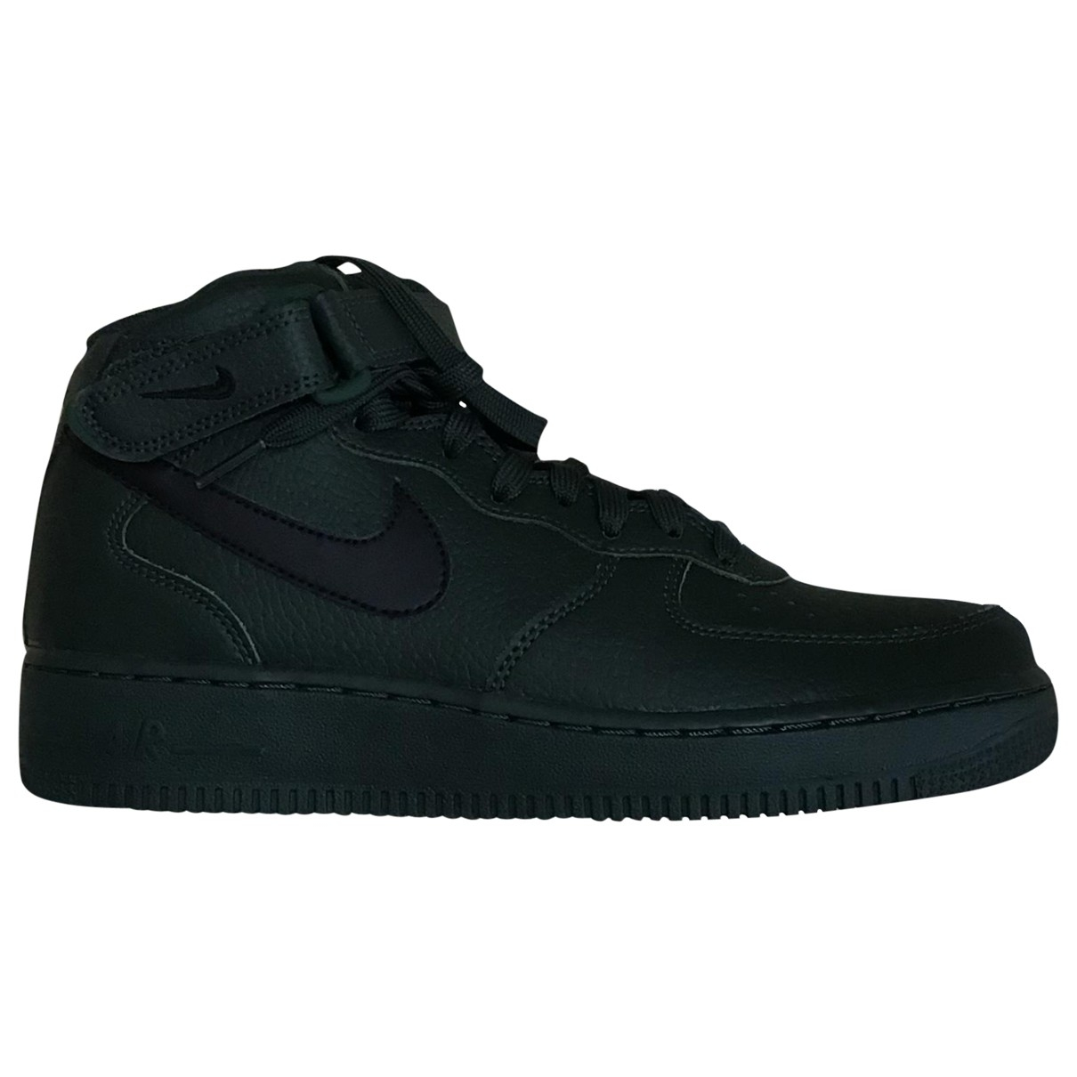 Nike Air Force 1 Green Leather Trainers for Men 40 EU