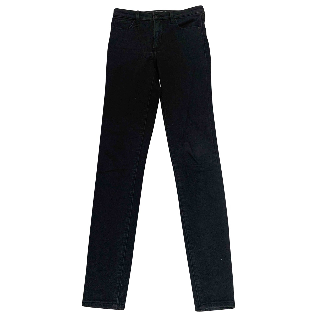 Abercrombie & Fitch \N Black Denim - Jeans Jeans for Women 24 US