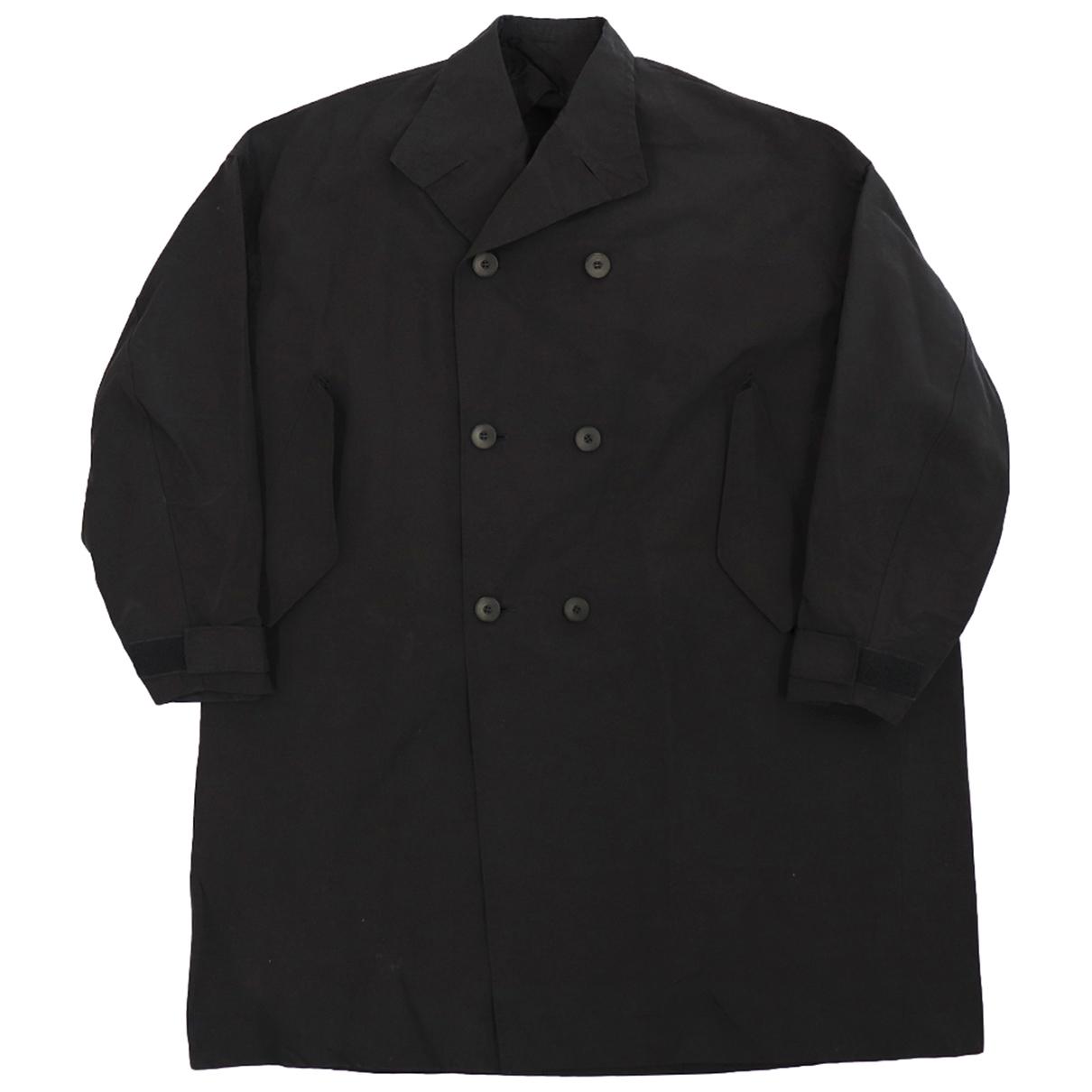 Julius 7 - Manteau   pour homme en coton - noir