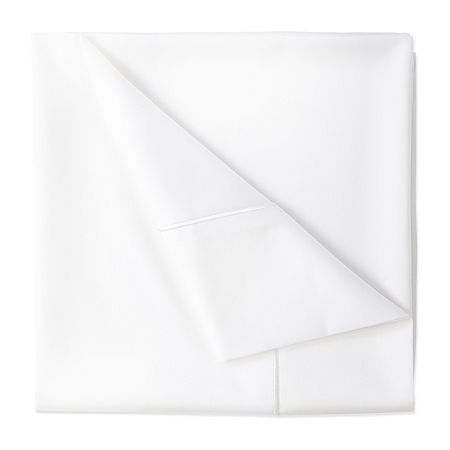 Wrinkle Guard 400TC Cotton Sheet Set, One Size , White
