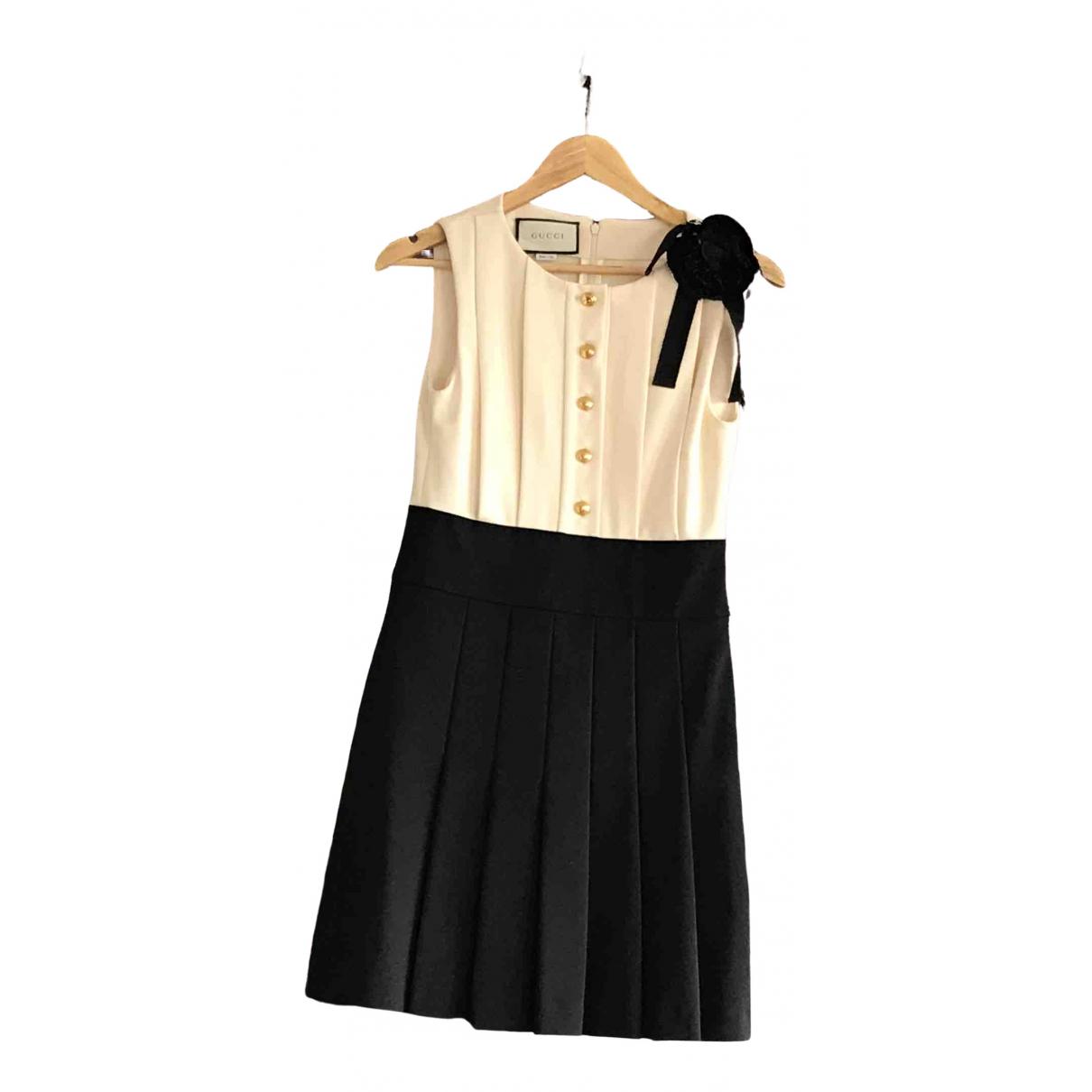 Gucci \N Kleid in  Bunt Viskose