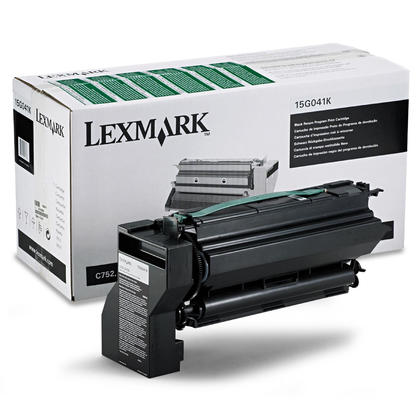 Lexmark 15G041K Original Black Return Program Toner Cartridge