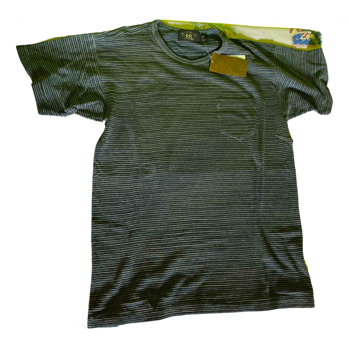 Ralph Lauren Double Rl - Tee shirts   pour homme en coton - kaki