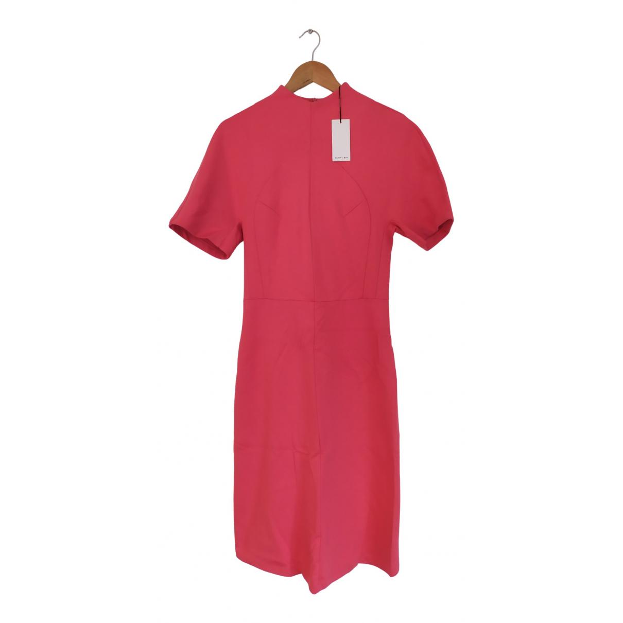Carven \N Kleid in  Rosa Baumwolle - Elasthan