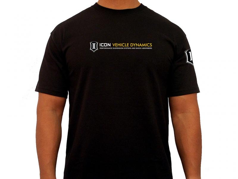 ICON Vehicle Dynamics ICON STANDARD TEE BLACK - SMALL