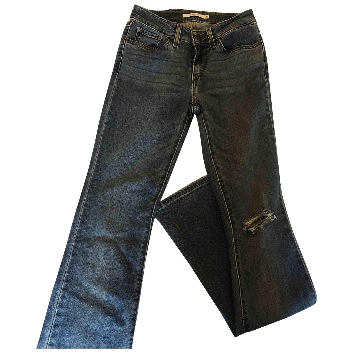Levi's \N Blue Denim - Jeans Jeans for Women 24 US