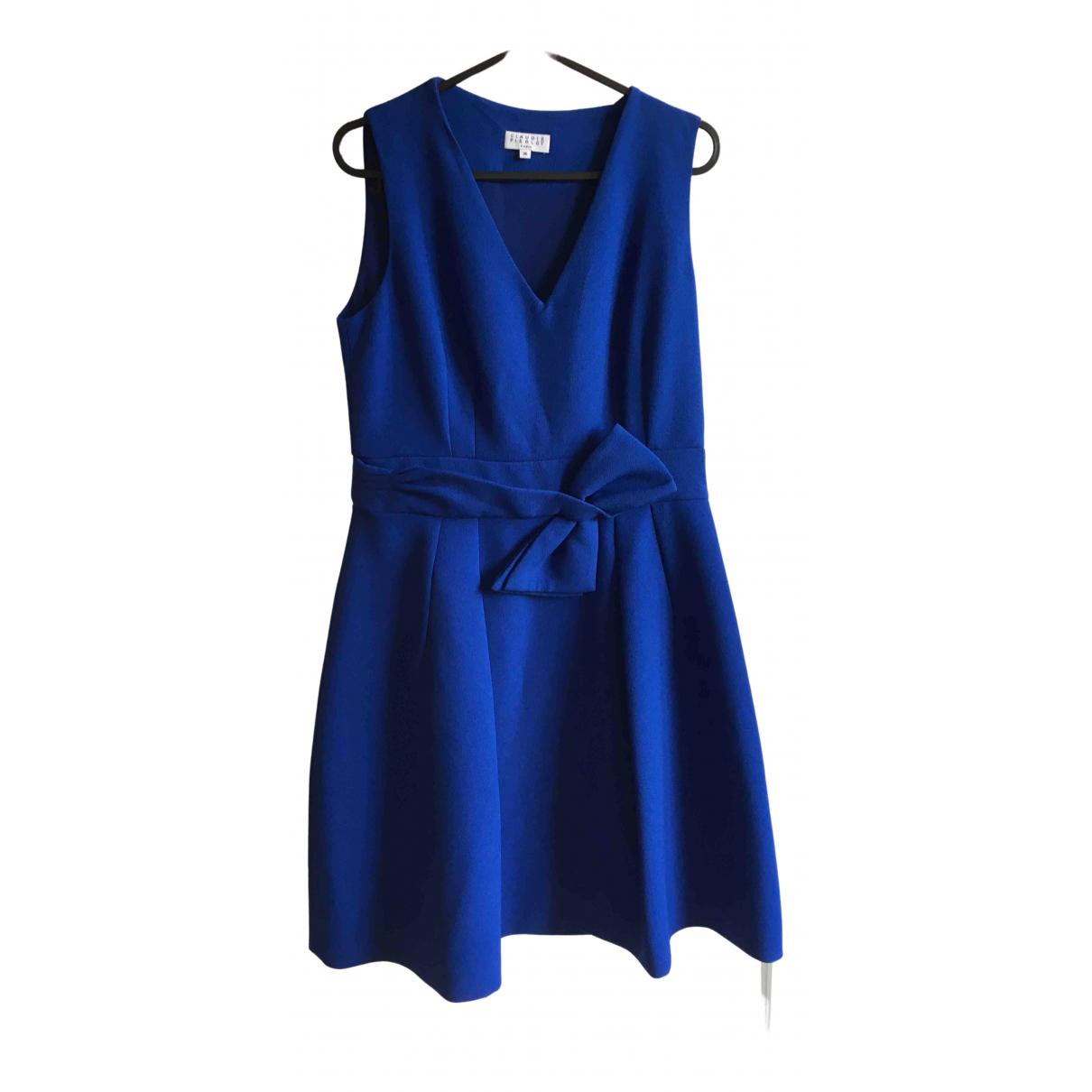 Claudie Pierlot Spring Summer 2019 Kleid in  Blau Polyester