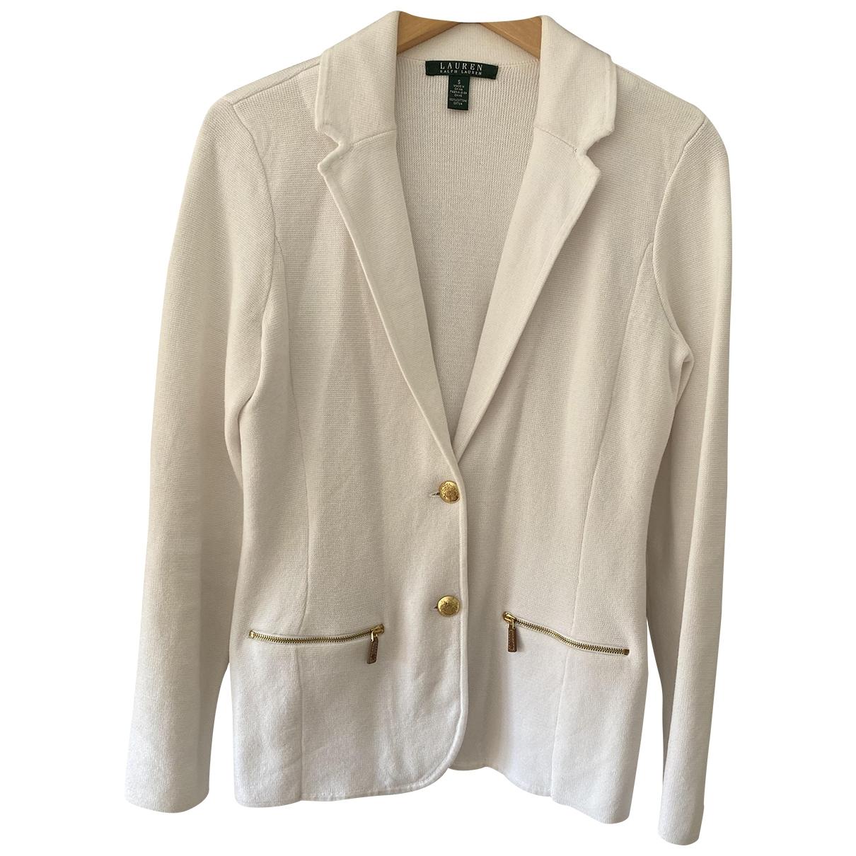 Lauren Ralph Lauren \N White Cotton jacket for Women S International