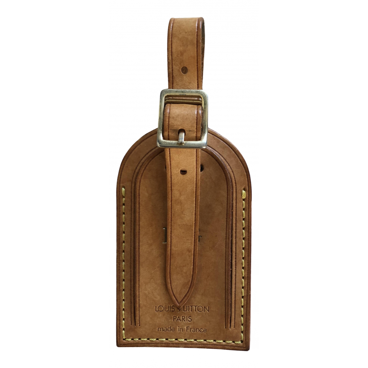 Louis Vuitton Porte adresse Kleinlederwaren in  Kamel Leder