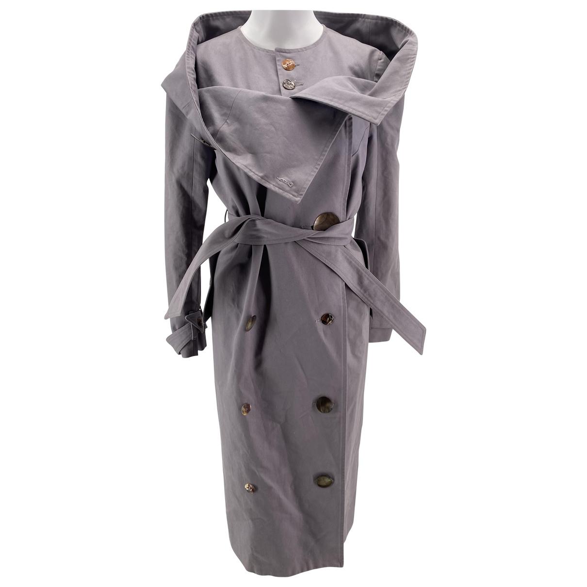 Freya Dalsjo - Trench   pour femme en coton - gris