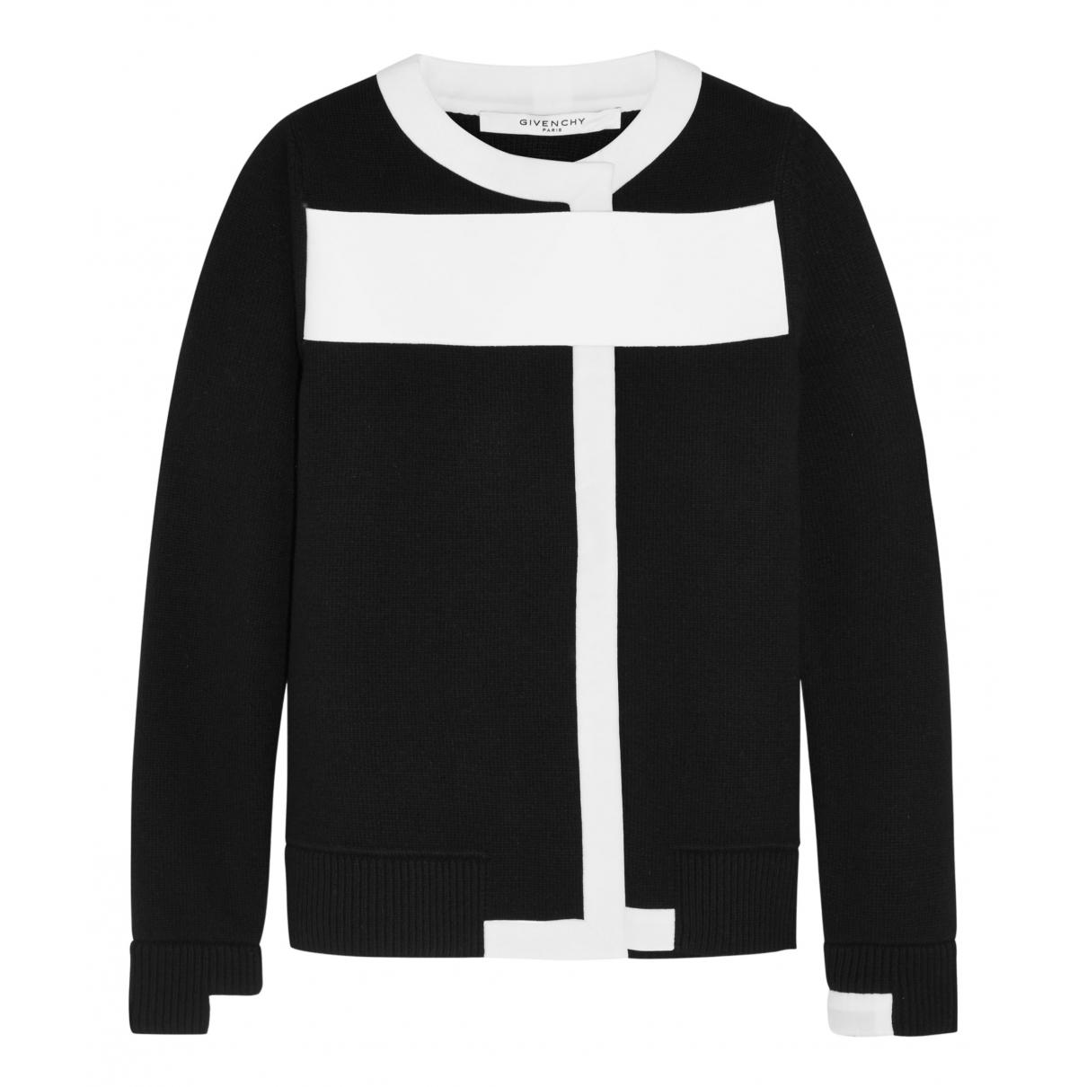 Givenchy - Pull   pour femme en laine - noir