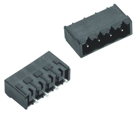 Wurth Elektronik , 7015B, 4 Way, 1 Row, Straight PCB Header