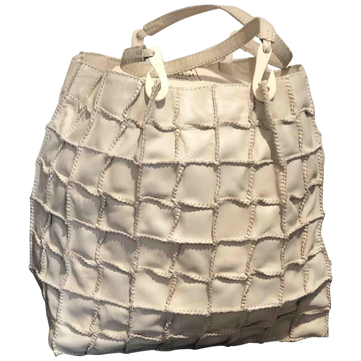 Jamin Puech \N Beige Leather handbag for Women \N