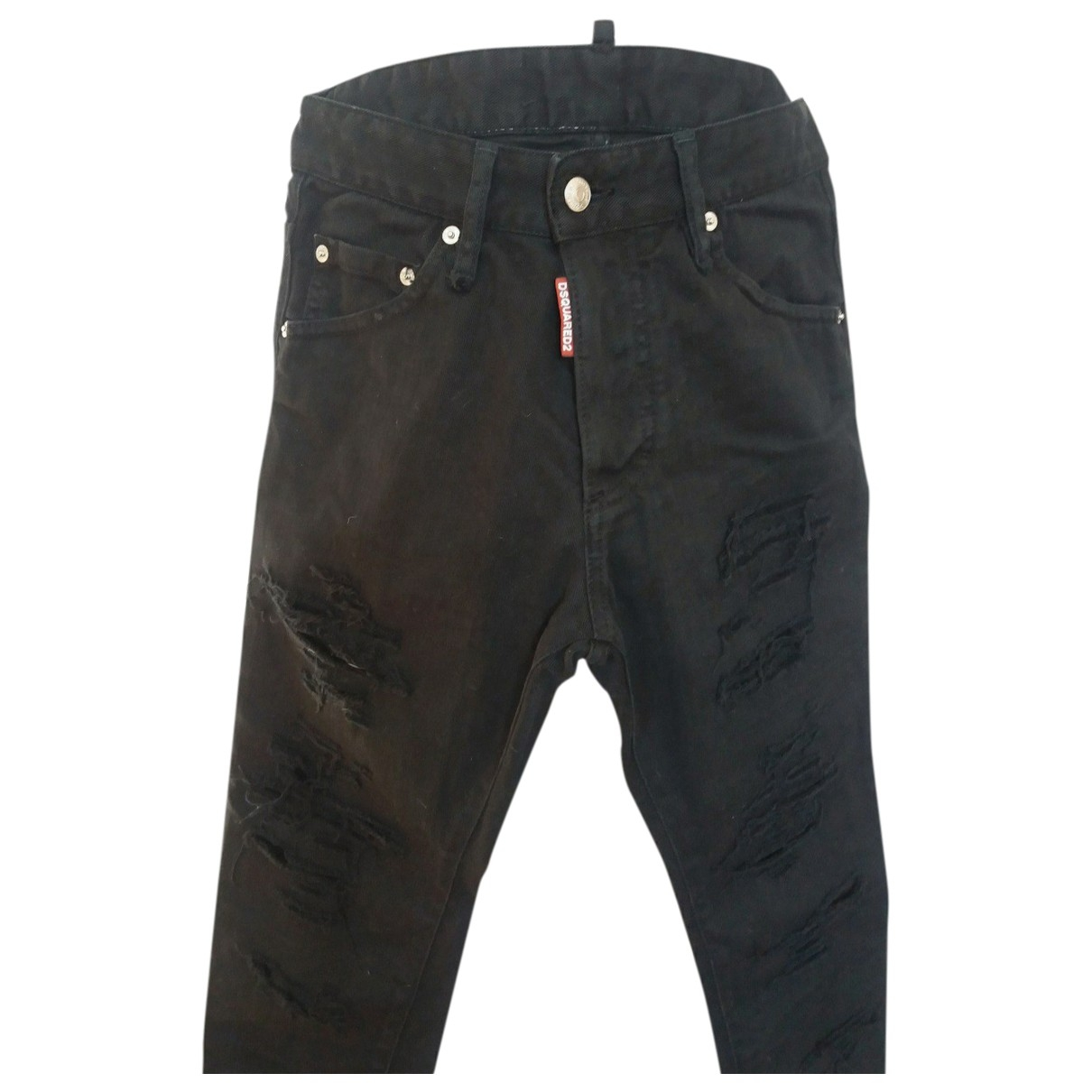 Dsquared2 \N Black Cotton Jeans for Men 27 US