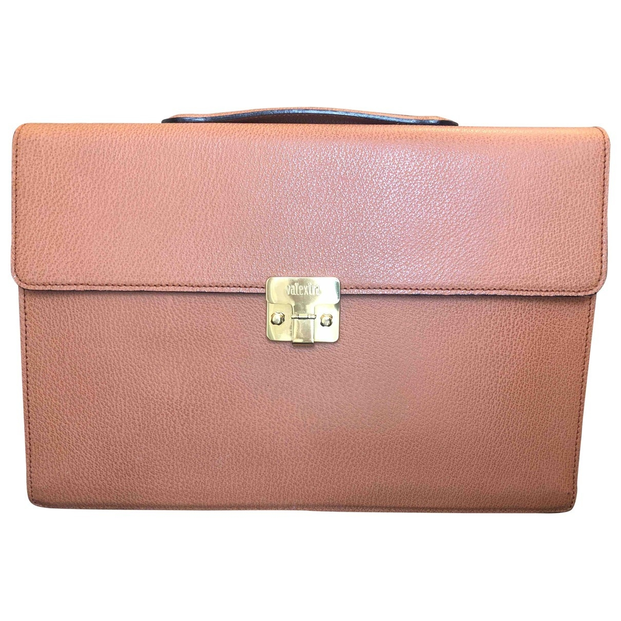 Valextra \N Handtasche in  Kamel Leder