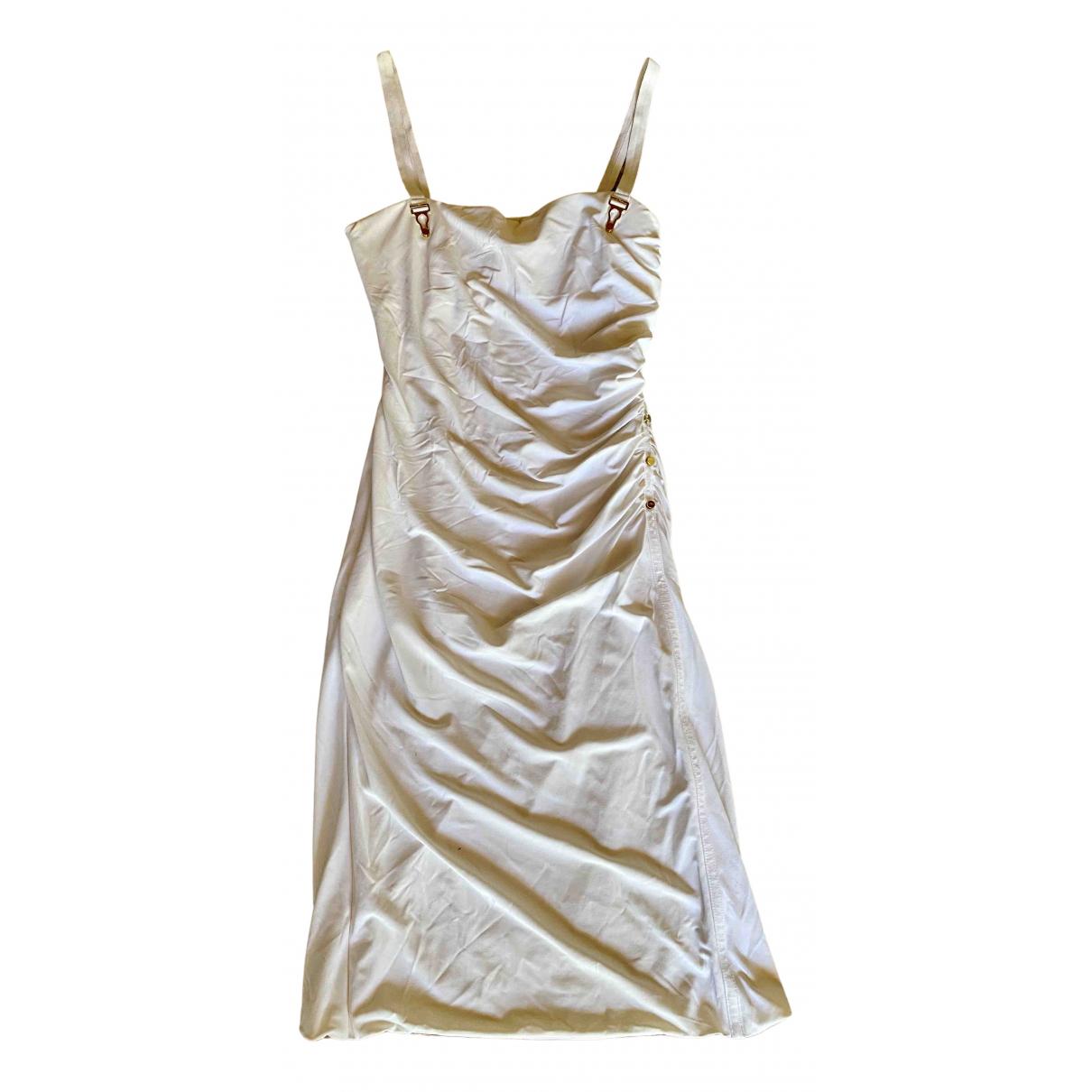 La Perla \N Kleid in  Weiss Viskose