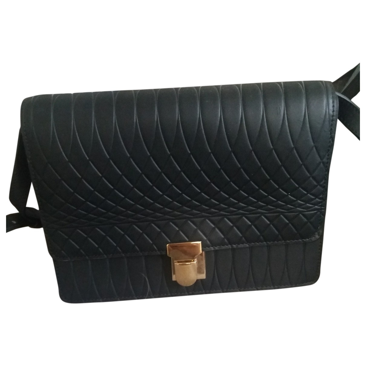 Paul Smith \N Black Leather handbag for Women \N