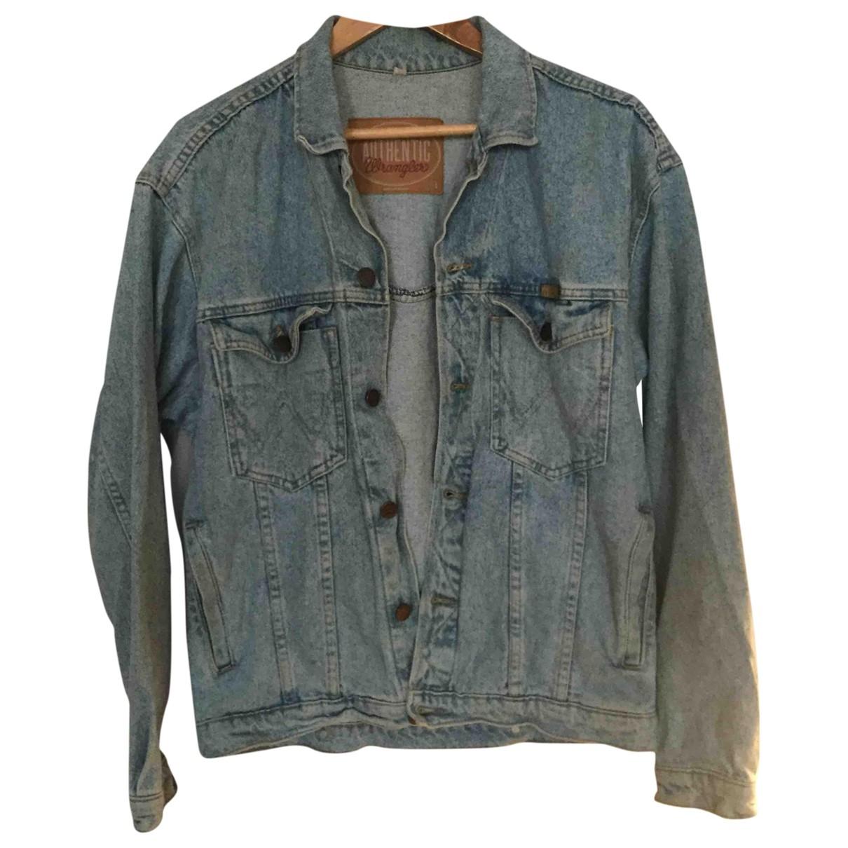 Wrangler - Veste   pour femme en denim - bleu