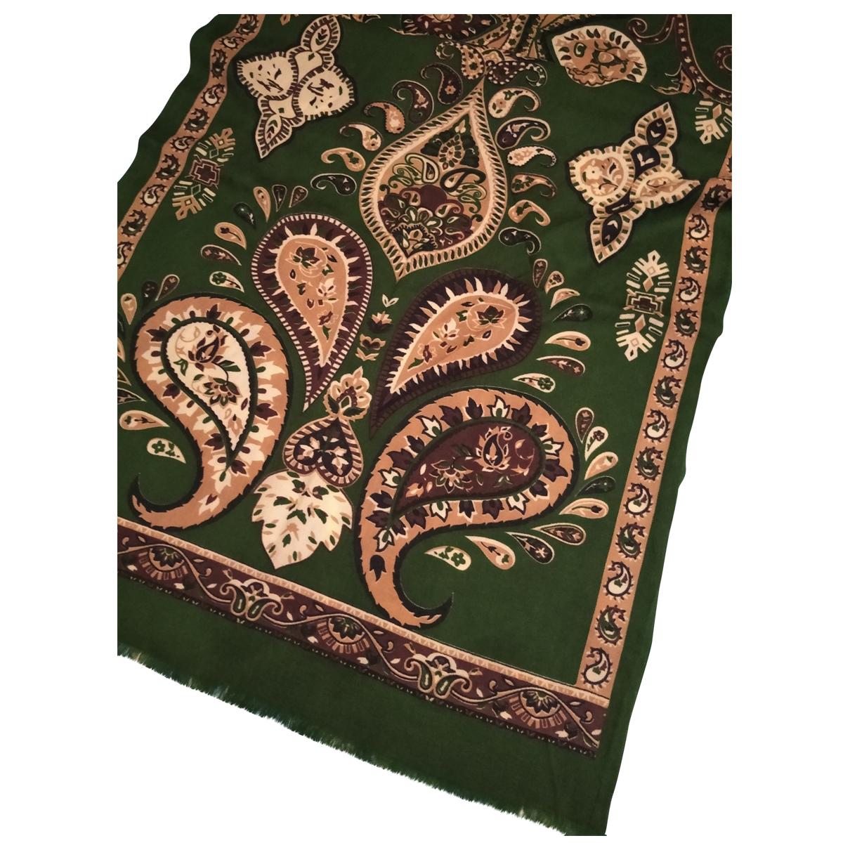 Altea N Green Linen scarf & pocket squares for Men N