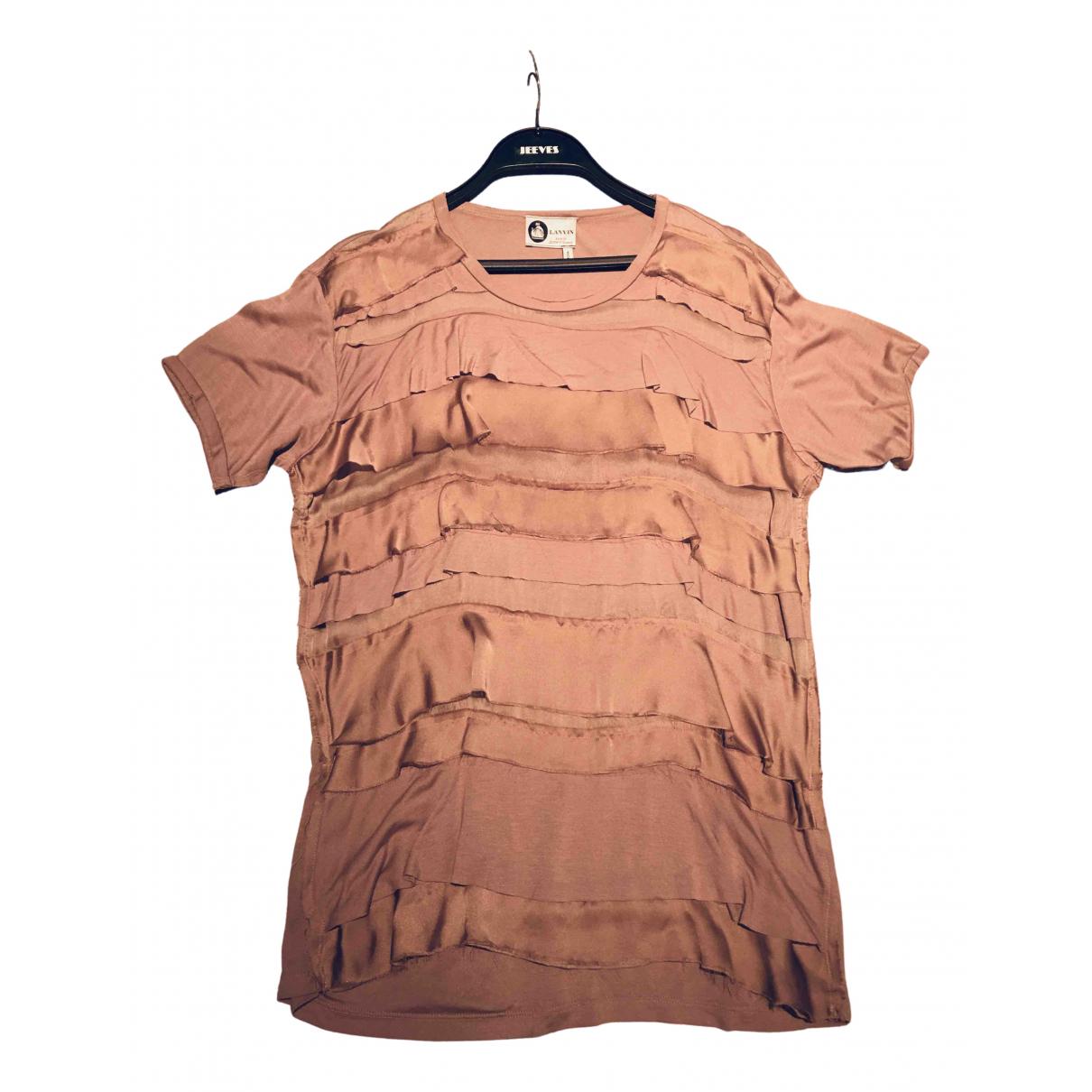 Lanvin - Top   pour femme - rose