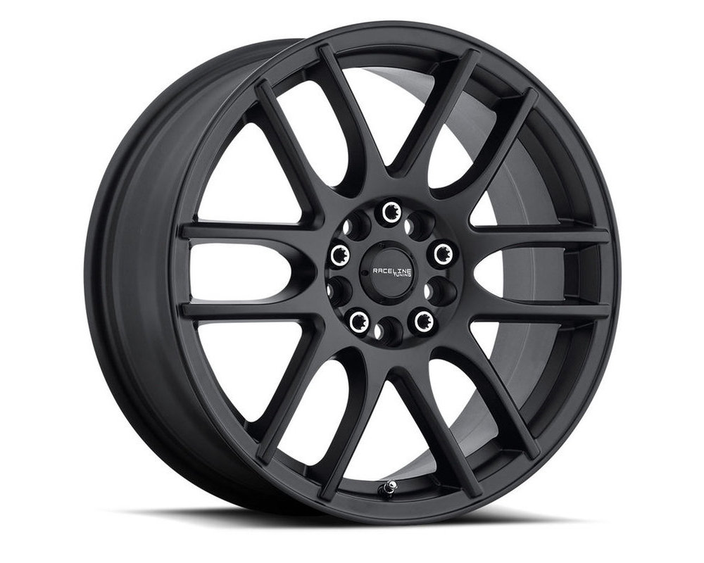 Raceline 141B Mystique Satin Black Wheel 18X7.5 5X100|5X114.3 42mm
