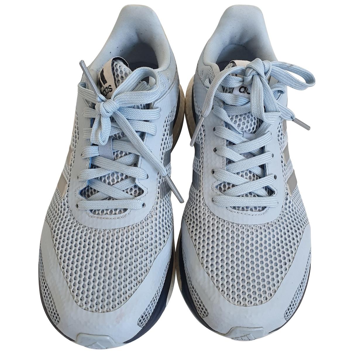 Adidas \N Blue Cloth Trainers for Women 38 EU
