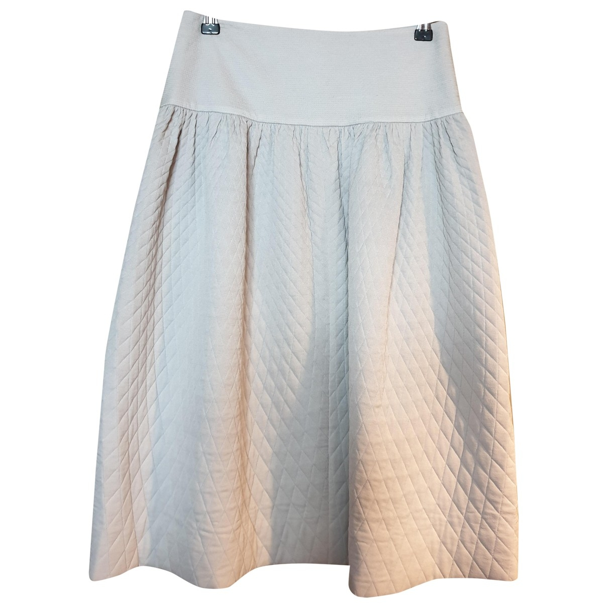 Chloé \N Blue Silk skirt for Women 34 FR