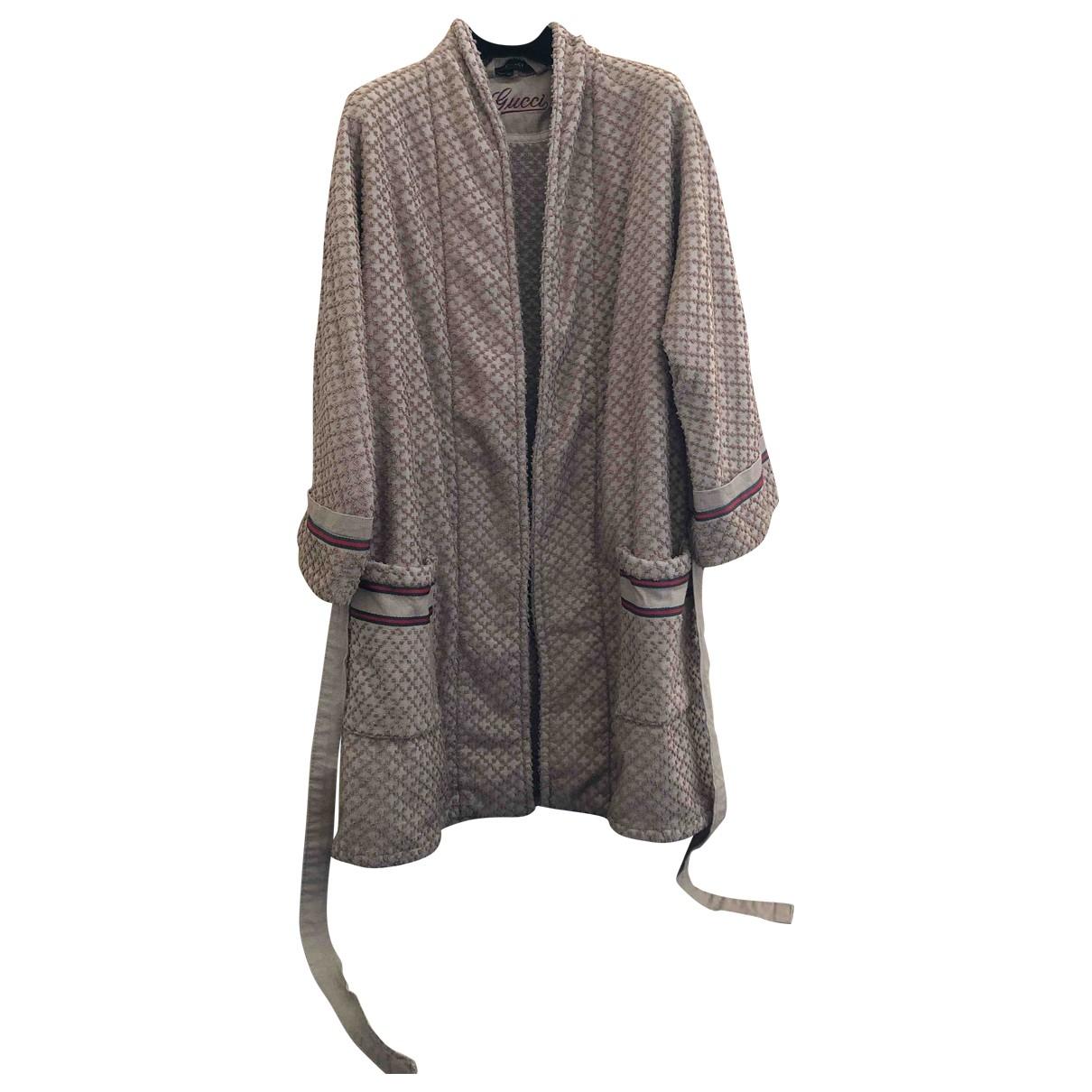 Gucci \N Beige Sponge Textiles for Life & Living S International