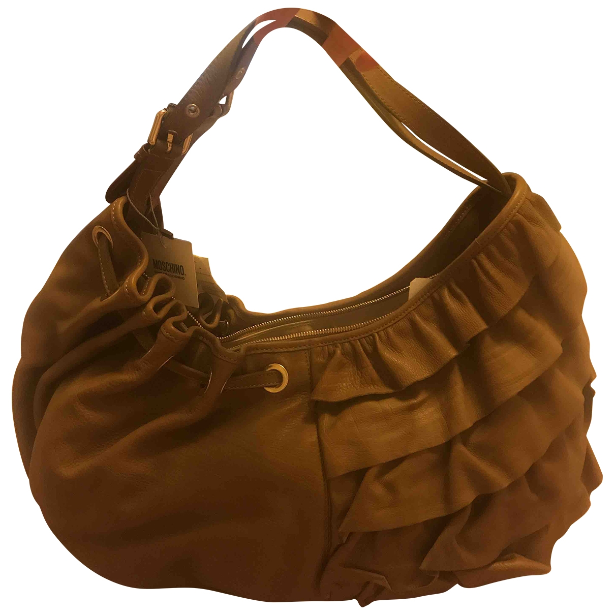 Moschino Cheap And Chic \N Camel Leather handbag for Women \N
