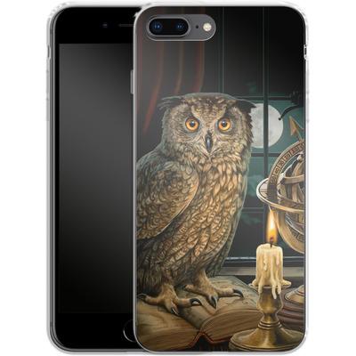 Apple iPhone 8 Plus Silikon Handyhuelle - The Astrologer von Lisa Parker
