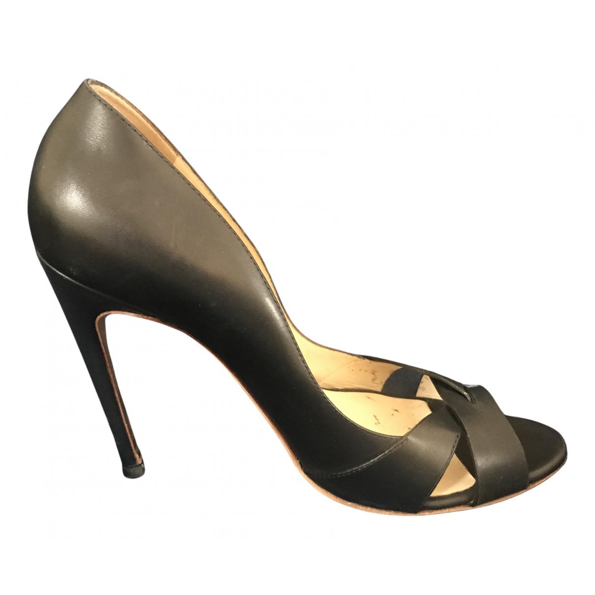 Rupert Sanderson N Blue Leather Heels for Women 41 EU