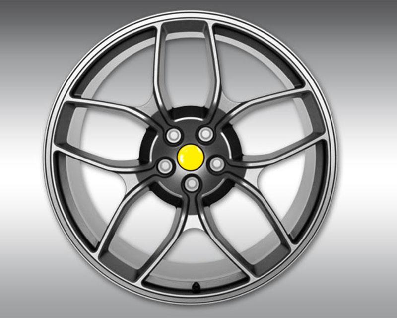Novitec F4 458 20 NF4 20x9 Silver Front 3-Piece Wheel Ferrari Spider 11-15