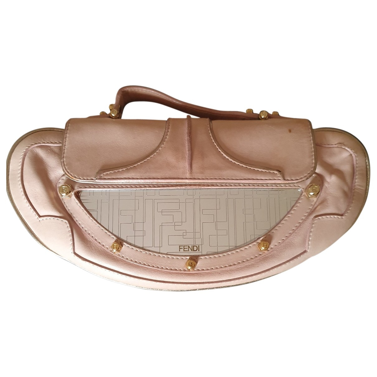 Fendi \N Pink Leather Clutch bag for Women \N