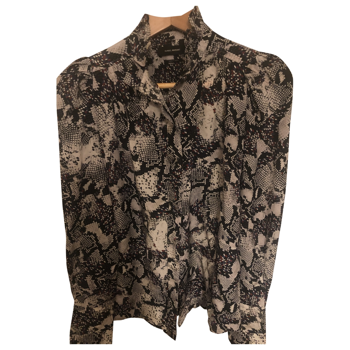 Isabel Marant \N Anthracite Silk  top for Women 38 FR