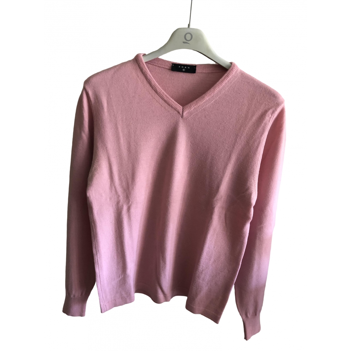 Non Signe / Unsigned \N Pullover.Westen.Sweatshirts  in  Rosa Wolle