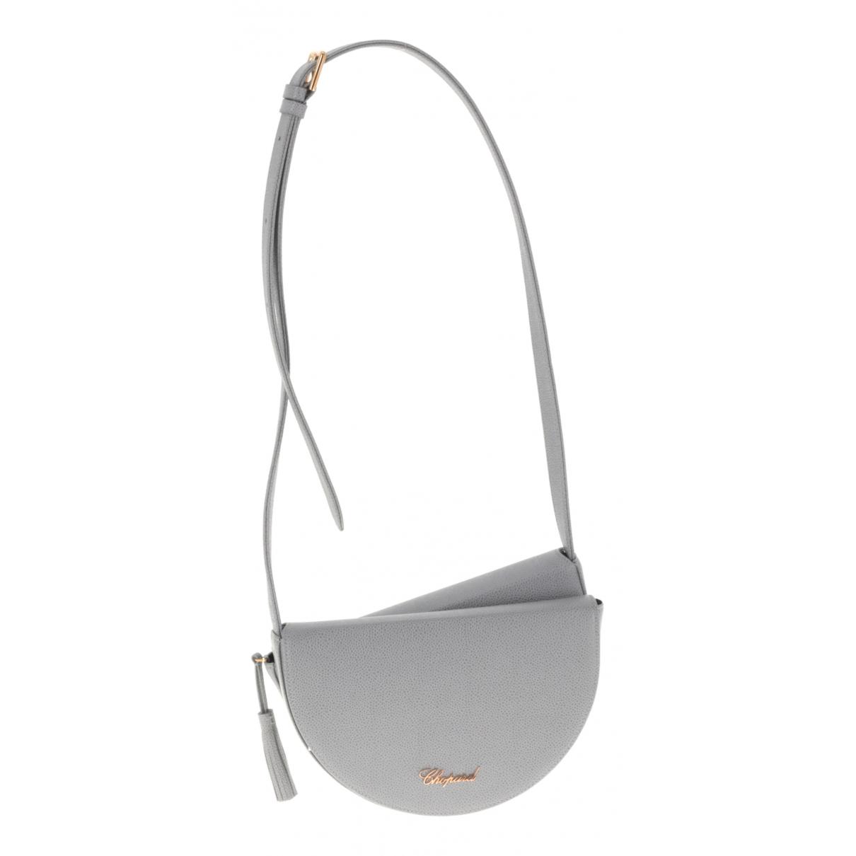 Chopard N Grey Leather handbag for Women N