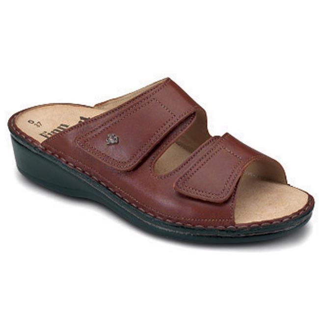 Finn Comfort Jamaica Brandy Leather Soft Footbed 40