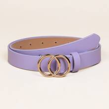 Kids Double O-ring Buckle Belt