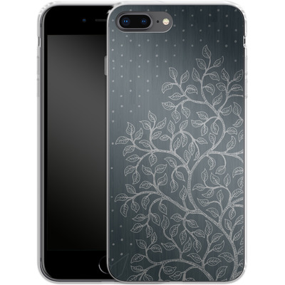 Apple iPhone 7 Plus Silikon Handyhuelle - Tree von Daniel Martin Diaz