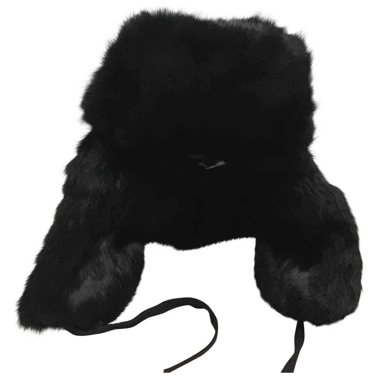 Furla \N Black Rabbit hat for Women M International