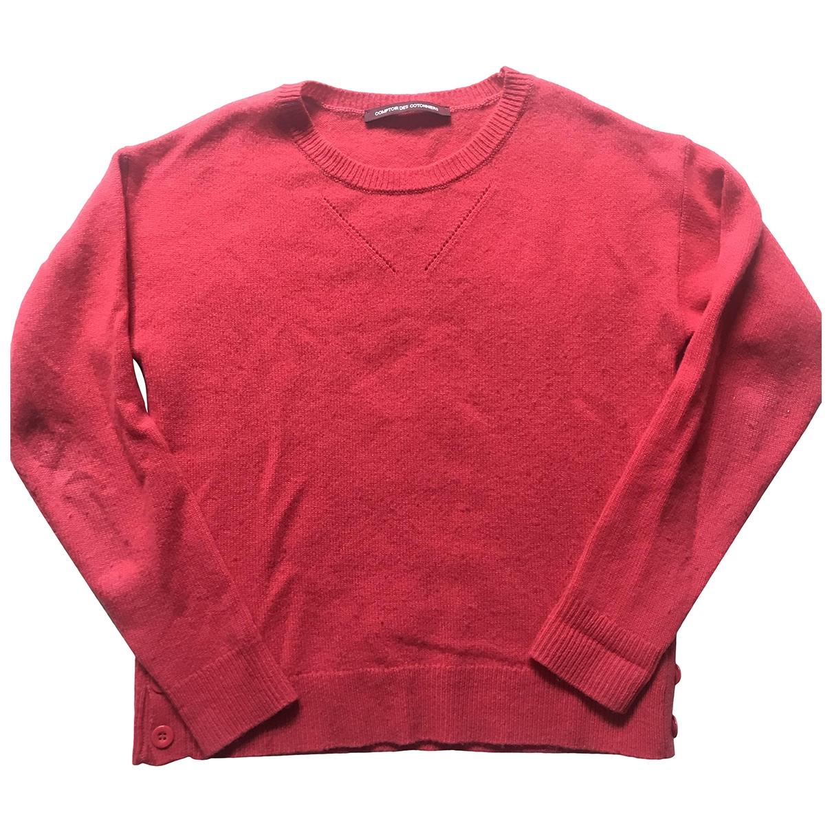 Comptoir Des Cotonniers \N Pullover in  Rot Kaschmir