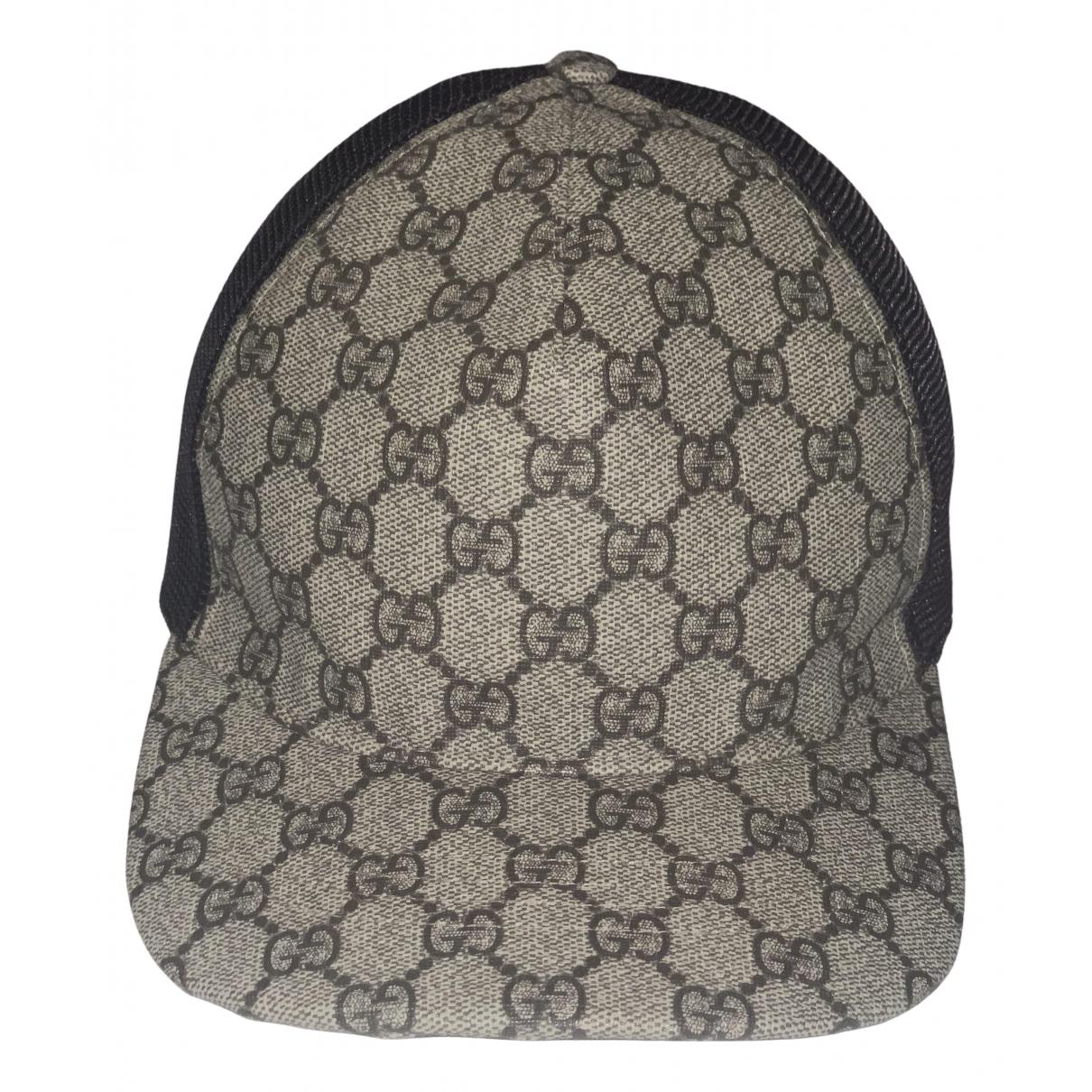 Gucci \N Hut, Muetzen in  Schwarz Baumwolle